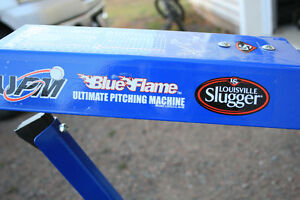Blue flame ultimate pitching machine