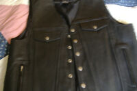 MEN'S MOTORCYCLE VEST/XL