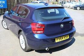 2015 64 BMW 1 SERIES 2.0 116D SE 5D 114 BHP DIESEL