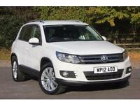 2012 VOLKSWAGEN TIGUAN SPORT TDI BLUEMOTION TECHNOLOGY ESTATE DIESEL