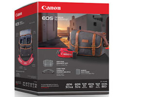 Canon Camera Bag and strap (Mint in box)