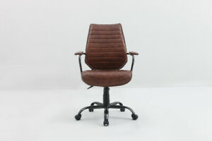 Luxury Leather Office Chairs - Clearance Sale!