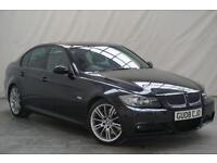 2008 08 BMW 3 SERIES 3.0 330D M SPORT 4D AUTO 228 BHP DIESEL