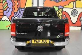 2014 VW AMAROK DOUBLE CAB 2.0BITDI HIGHLINE 180PS 4MOTION PICK UP BLACK