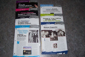 Johnny Hallyday Livres + Magazines + CD