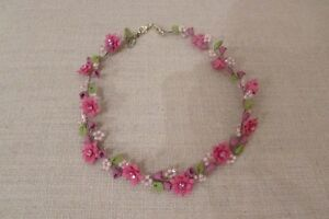 flower neckpiece (or hair-piece)