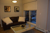 Downtown Fully Furnished Condo - High Rise - All utilities incl.