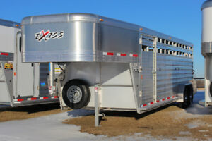 "2018 Exiss Stock 24' Trailer 6'8"" Tall"