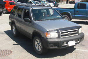 1999 Nissan Pathfinder 4x4, with LOTS of camping equipment