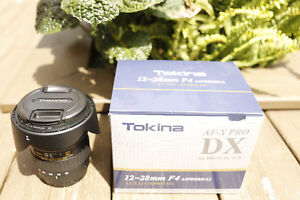 Tokina 12-28mm f/4.0 AT-X Pro DX -New and in the Box