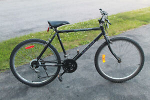"Adult 18 Speed mountain Bike with 26"" tires"