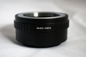 """M42 & """"C"""" AdapterS for Sony NEX E-Mount"""
