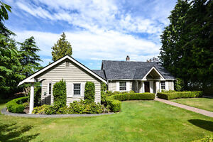 Stunning WATERFRONT Home Just Minutes From White Rock!