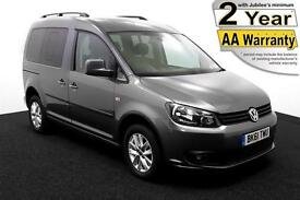 2012(61) VOLKSWAGEN CADDY 1.6 TDi LIFE SIRUS DRIVE FROM AUTO WHEELCHAIR ACCESS