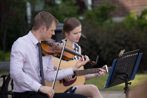 String Duo - Two Violins/Violin & Guitar - Wedding Music Kitchener / Waterloo Kitchener Area image 3