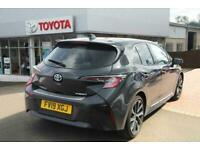 2019 Toyota COROLLA HATCHBACK 1.8 VVT-i Hybrid Excel 5dr CVT Auto Hatchback Petr