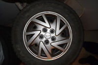 Hubcaps from Pontiac Sunfire