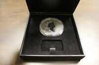 1998 10th Anniversary Silver Maple Leaf 50 Dollars silver coin