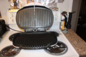 appliances- George Foreman grilling machine