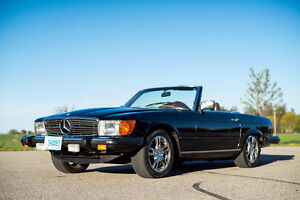 1977 Mercedes 450SL Convertible