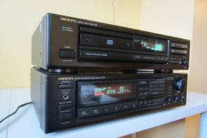 Onkyo Quartz Synth Tuner/ Ampli TX-902/CD Player DX-702