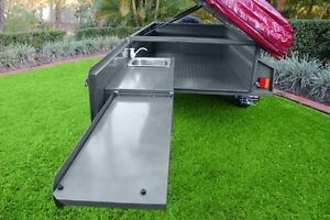 Offroad Deluxe V5 MDC Camper Trailer with 07 tent and annexe Lee Point Darwin City Preview
