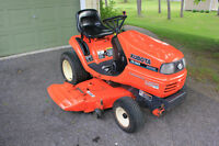 Kubota TG1860 - 18hp Diesel Ride on Mower/Snow Blower