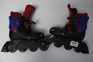 2 different types of rollerblades