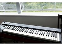 Roland RD-64 keys & piano, pedals - with Nord case