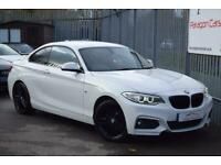 2017 BMW 2 Series 2.0 218d M Sport (s/s) 2dr Coupe Diesel Manual