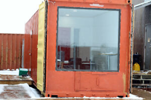 Various used and new shipping containers located in Napanee