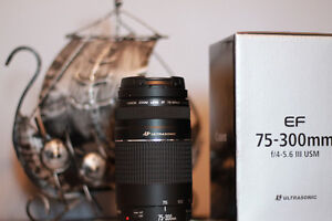 Canon EF 75-300mm f4-5.6 III USM FOR SALE