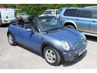 MINI COOPER - Stunning Blue Mini Cabriolet - Summer Here We Go!!!! Rare Blue