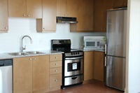 2bed+2bath+parking+locker new condo, furniture on request