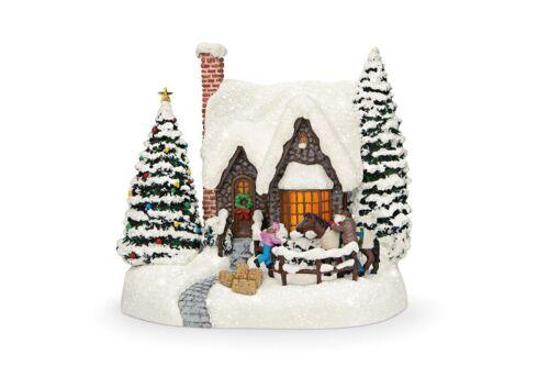 2021 Thomas Kinkade Warm Winter Wishes Collectible by Teleflora