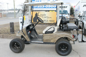 2013 CAMO EZ-GO TXT GAS Golf Cart