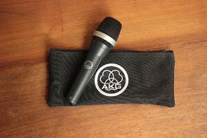 AKG D5 Microphone, Stand and Cable included