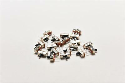 20x Ss12d00g3 2 Position Hidt 1p2t 3 Pin Pcb Panel Vertical Slide Switch Hi