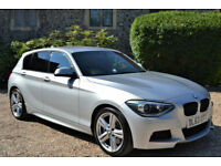 BMW 125D 2.0TD 218bhp s/s Sports Auto 2013 MSport, 34K MILES, FULL BMW HISTORY