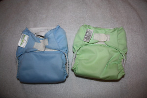 Bum Genius One Size Cloth Diapers with Microfleece Inserts