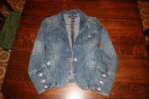 3-Great Jean Jackets Small Ladies to Large Adolescent Sizes