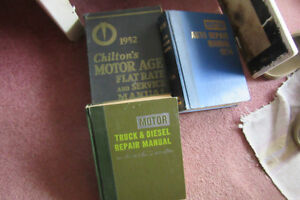 old car and truck manuals