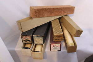 Antique Player Piano Rolls