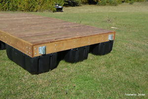8 x 16 pressure treated floating dock with 4 x 16 ramp Kingston Kingston Area image 7