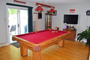 4X8 Brunswick billiard table