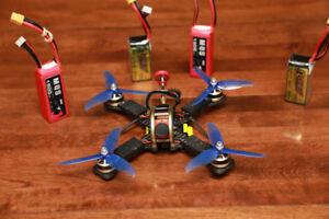 Pro race bundle Quads/Lot de Quadcopters de course-100% working