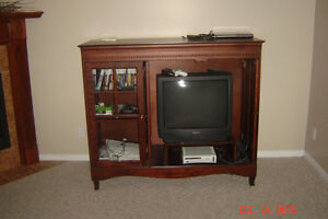 TV Cabinet cherry wood