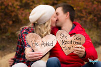 Engagement photos by Diamond Road Photography