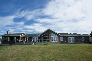 15+ ACRES/240' OCEAN FRONTAGE/CUSTOM BUILT 3 BD IN YOUNGS COVE