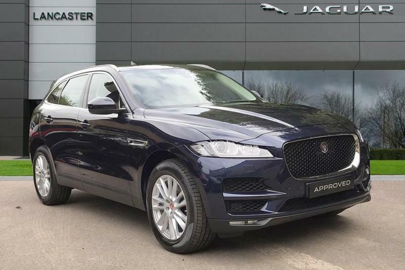 2018 Jaguar F Pace Portfolio Awd Diesel Blue Automatic In Sevenoaks Kent Gumtree